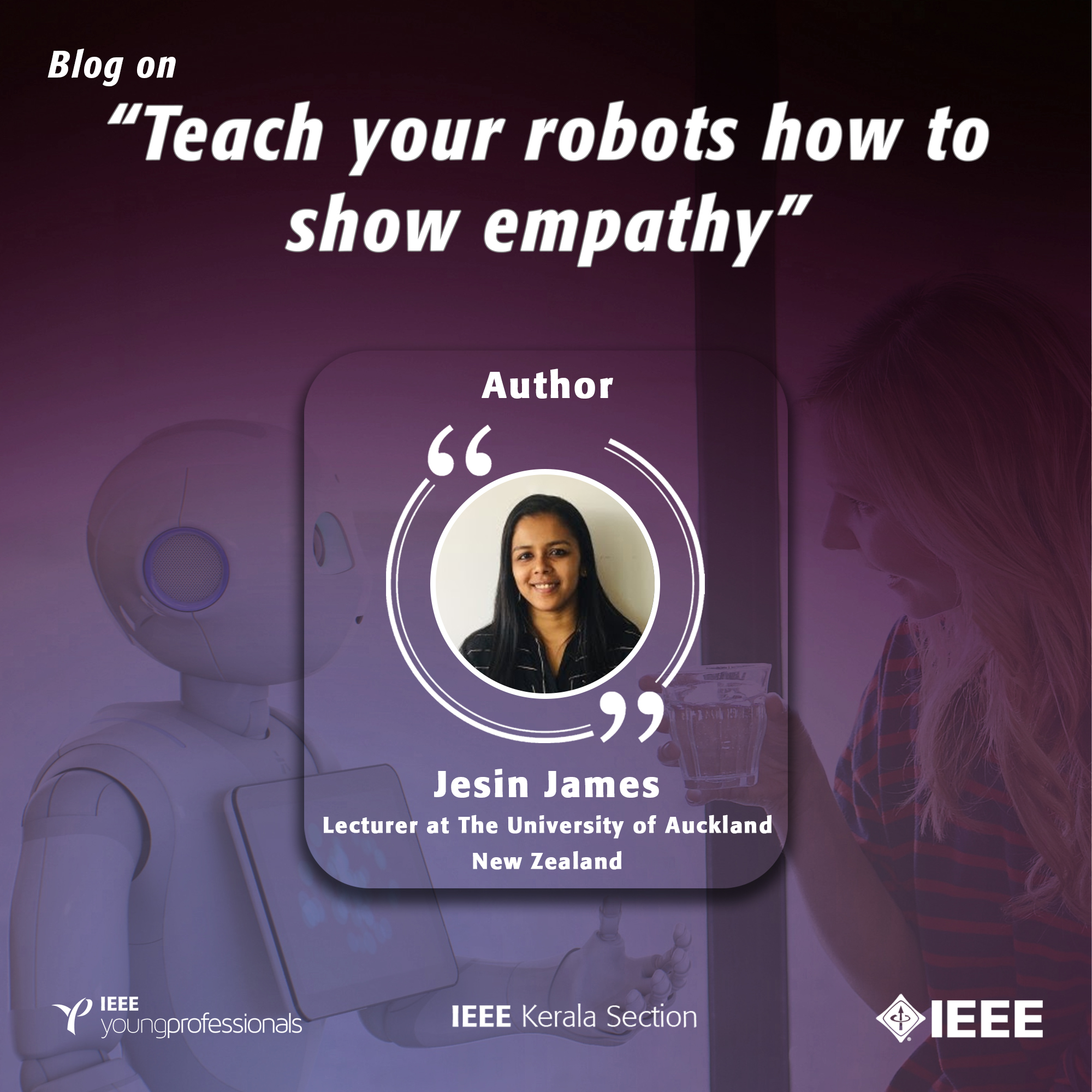 Teach your robots how to show empathy