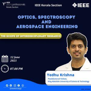 Optics, Spectroscopy and Aerospace Engineering- The Scope of Interdisciplinary Research