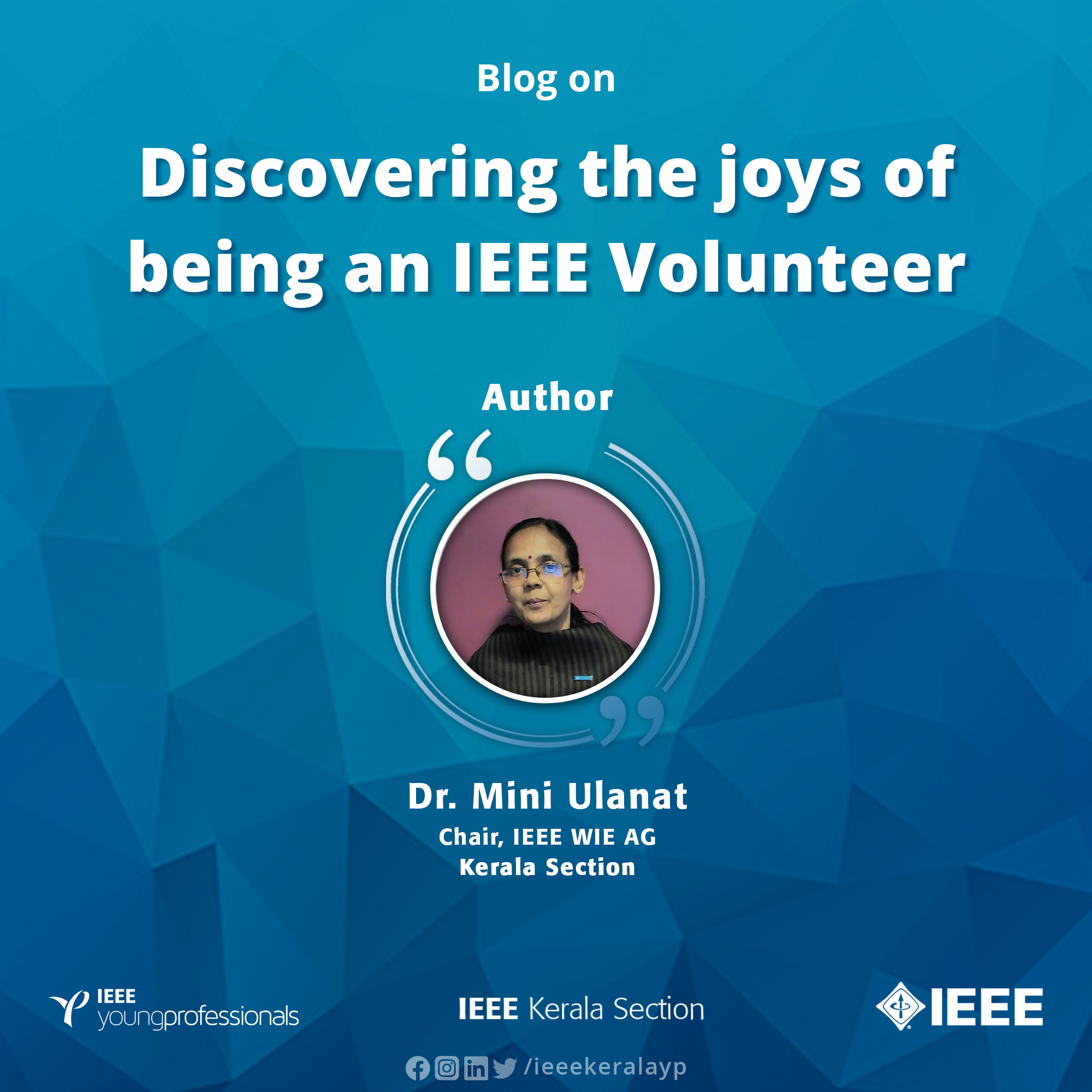 Discovering the joys of being an IEEE Volunteer